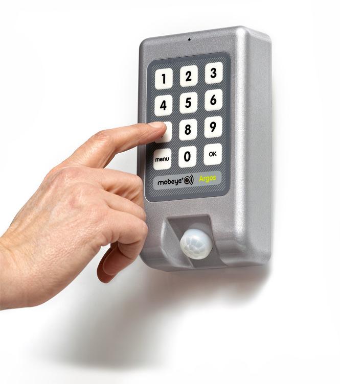GSM alarm med kodepanel