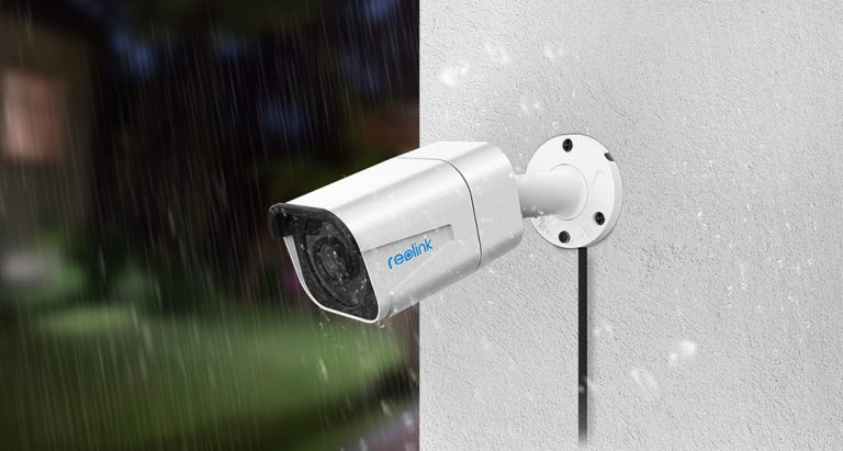 Kameraet kan plasseres utendørs