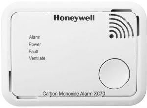 Honeywell XC70 CO varsler