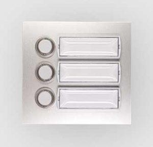 Ringetablå med 3 trykknapper