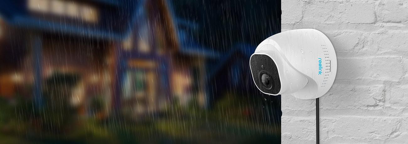 Overvåkningskamera utendørs