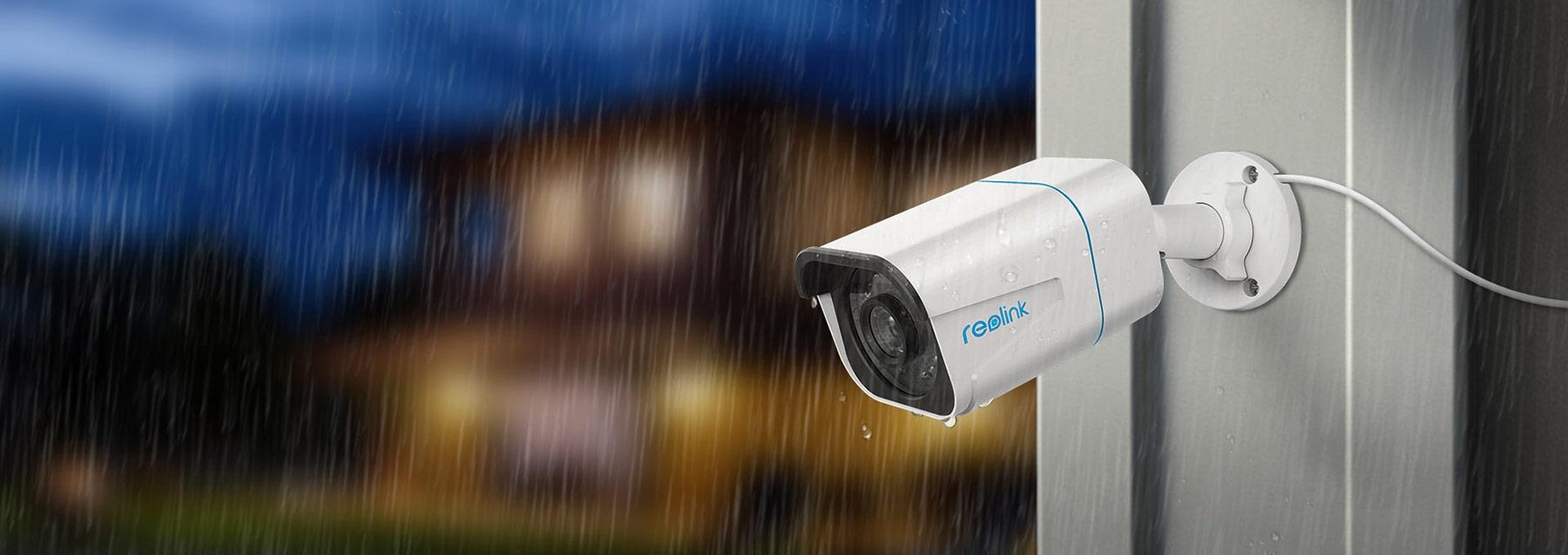 Kameraovervåkning til utendørs bruk