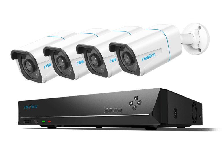 Kameraovervåkning pakke med 4 kameraer